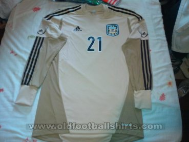 Argentina Goalkeeper football shirt 2012 - 2013