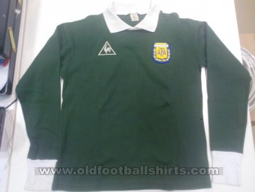 Argentina Goalkeeper football shirt 1982 - 1983