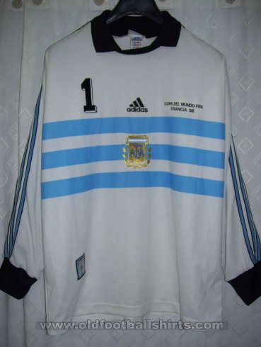 Argentina Goalkeeper football shirt 1998