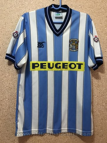Coventry City Home voetbalshirt  1989 - 1991