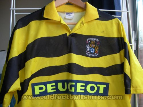 Coventry City Away voetbalshirt  1991 - 1992