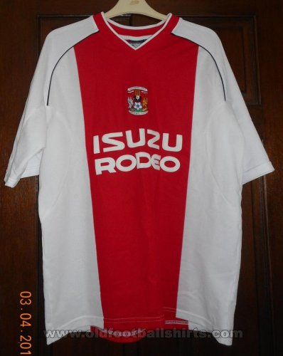Coventry Away football shirt 2003 - 2005
