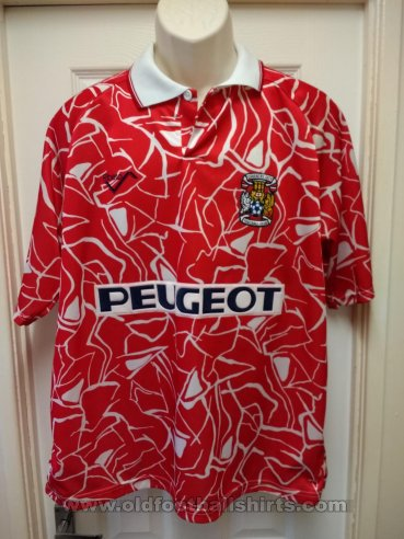 Coventry Away football shirt 1992 - 1994