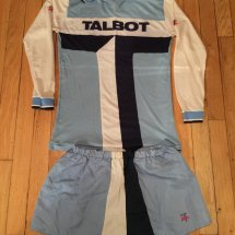 Coventry City Home voetbalshirt  1981 - 1983 sponsored by Talbot
