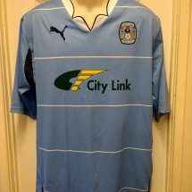 Coventry City Home voetbalshirt  2010 - 2011 sponsored by City Link