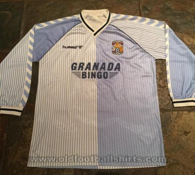Coventry Home football shirt 1987 - 1988