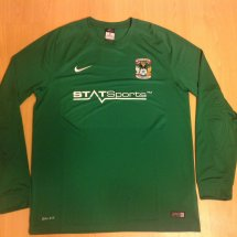 Coventry City Uit  voetbalshirt  2015 - 2016 sponsored by StatSports