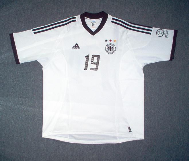 Germany Home football shirt 2002 - 2004.