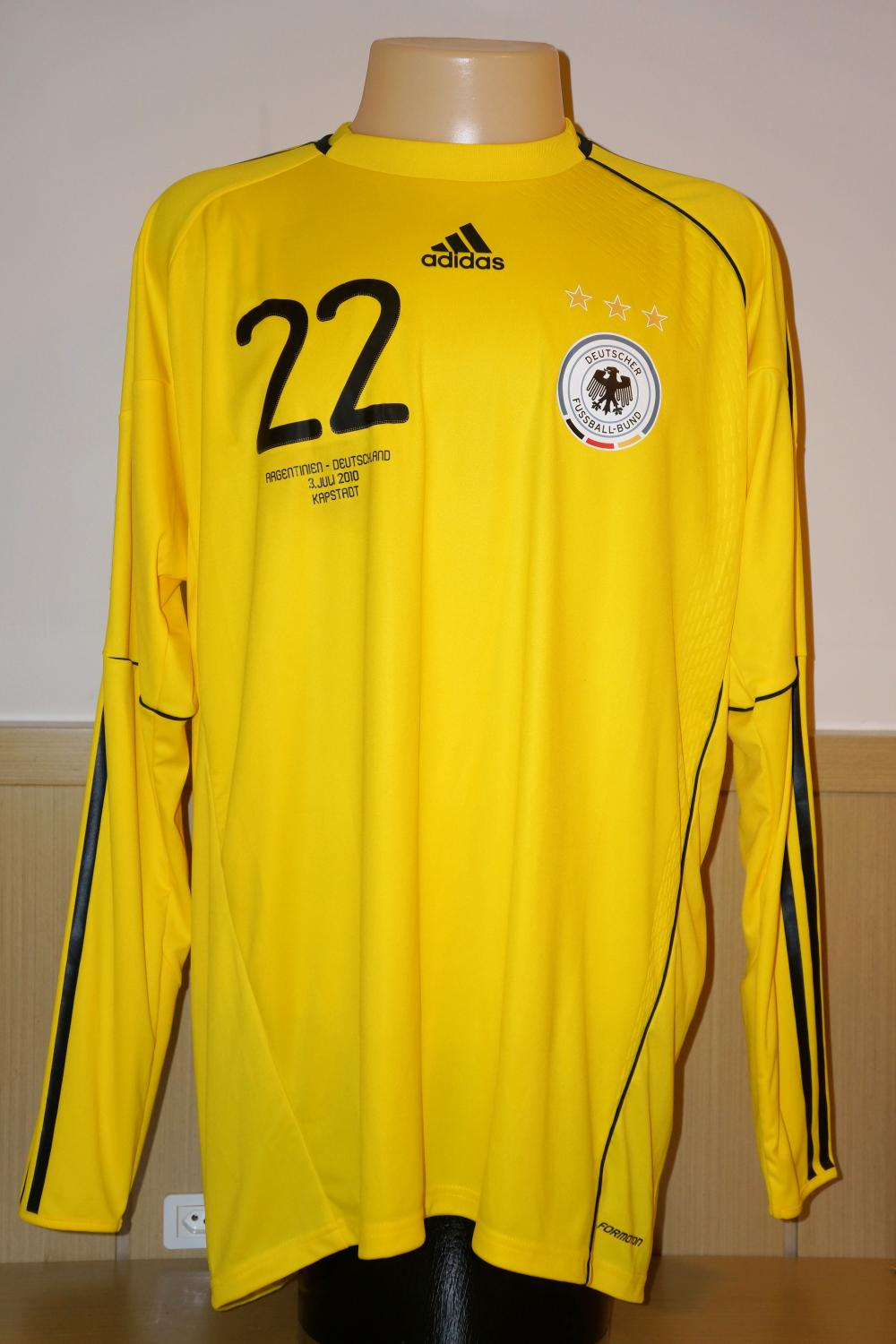 8738141ba Germany Goalkeeper Camiseta de Fútbol 2010 - 2011.