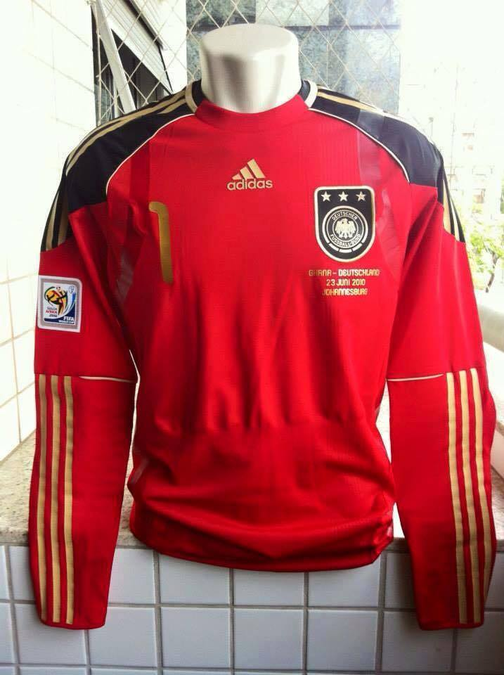 f56d70b229b Germany Goalkeeper Camiseta de Fútbol 2010 - 2011.