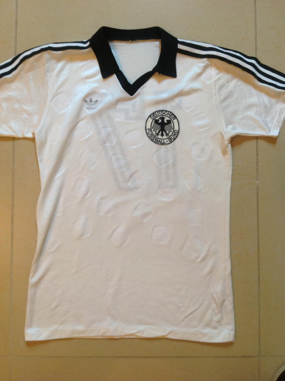 germany home football shirt 1982 added on 20140106 0909