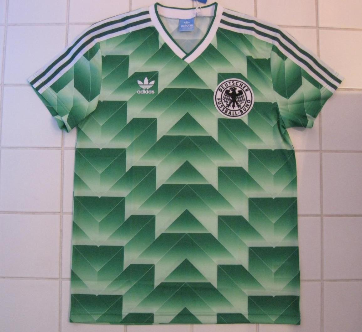 Germany Retro Replicas Fussball Trikots 1988 1990