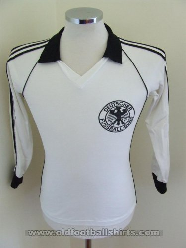 Germany Home voetbalshirt  1980