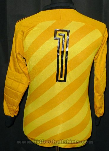 Germany Goalkeeper football shirt 1984 - 1986