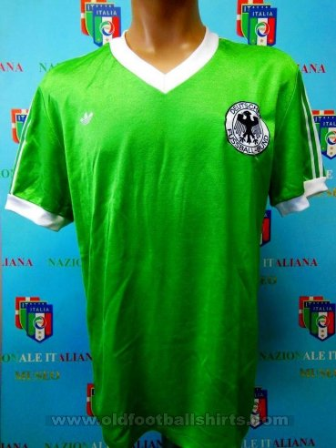 Germany Away football shirt 1983 - 1989