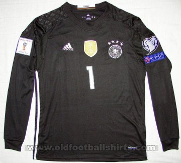 Germany Goalkeeper football shirt 2016 - 2017