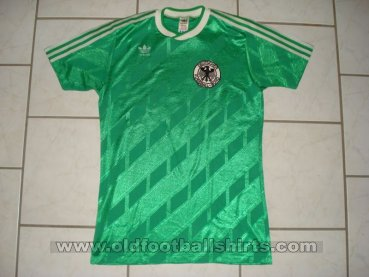 Germany Away football shirt 1987 - 1988