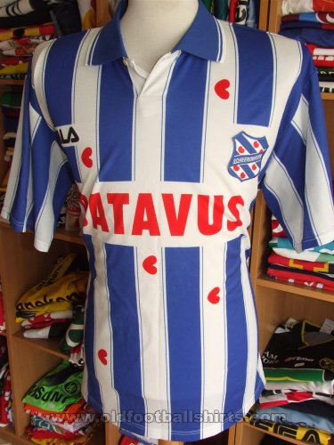 SC Heerenveen Home football shirt 1998 - 1999