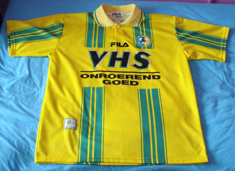 Ado Den Haag Home Football Shirt 1998 1999 Sponsored By Vhs Onroerend Goed