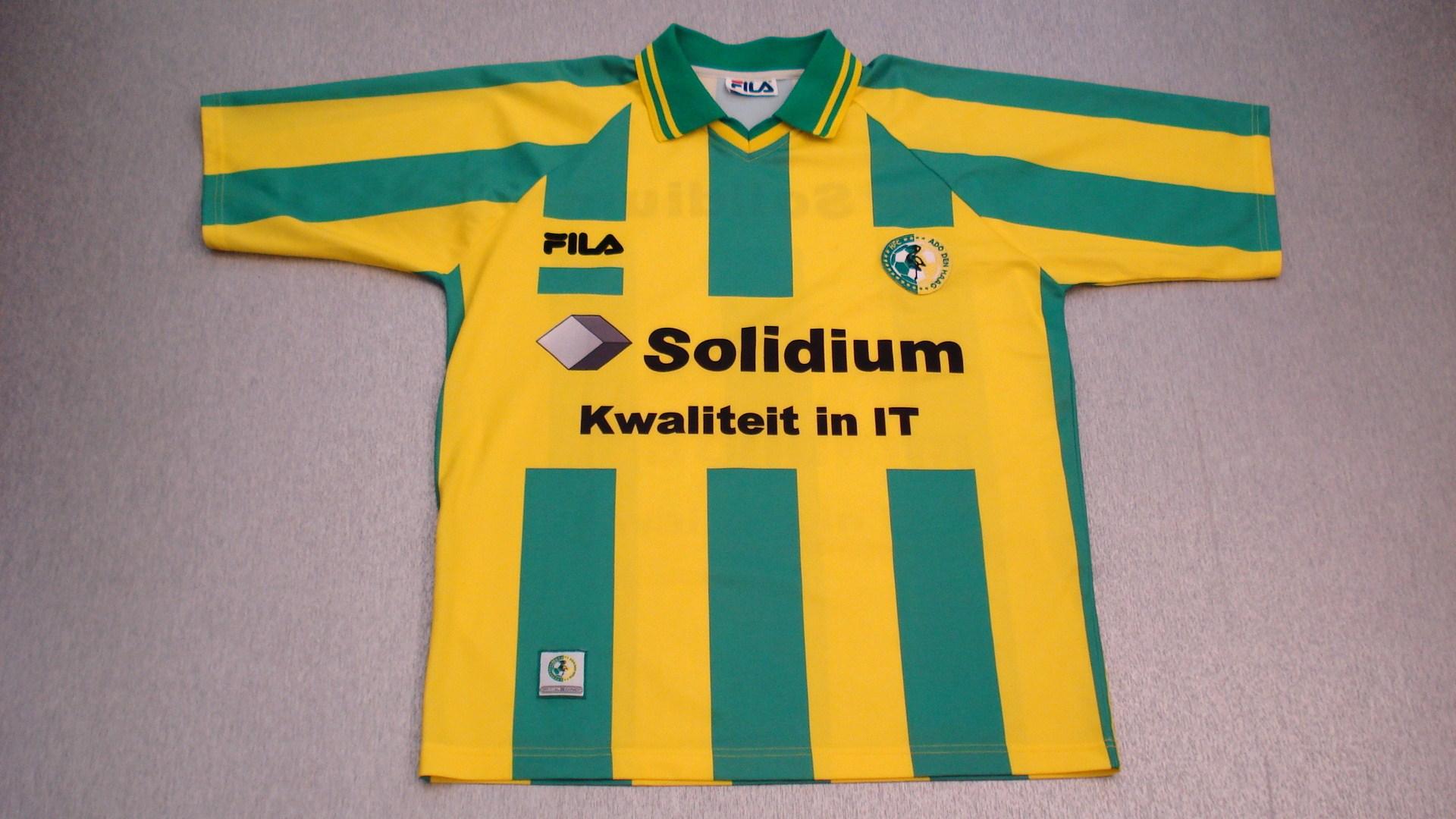 Ado Den Haag Home Football Shirt 2000 2001