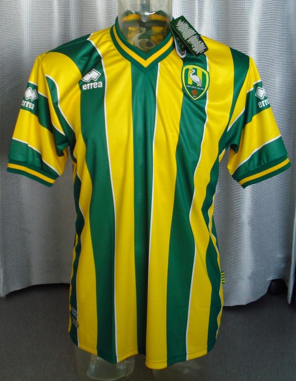 Ado Den Haag Home Football Shirt 2011 2012