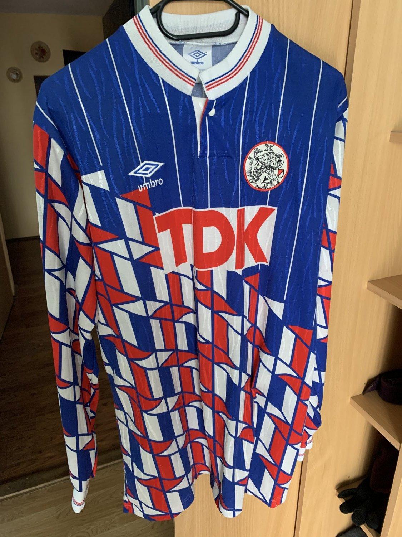 super popular 2e9eb e0a98 Ajax Away football shirt 1989 - 1990.