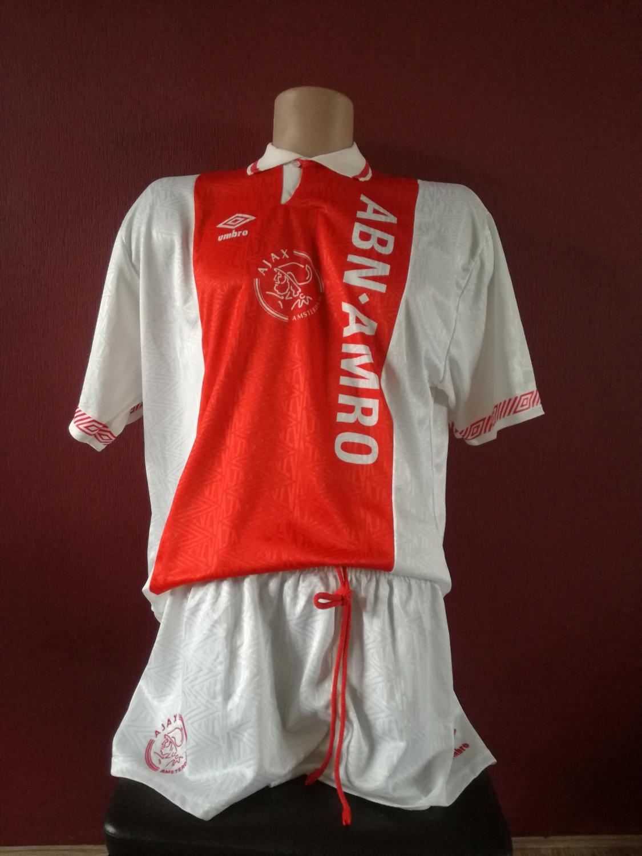f6f54e494d4 Ajax Home maglia di calcio 1991 - 1993.