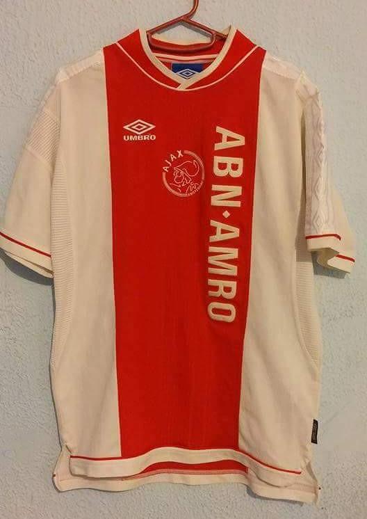 d6ee6dfc093 Ajax Home maglia di calcio 1999 - 2000.