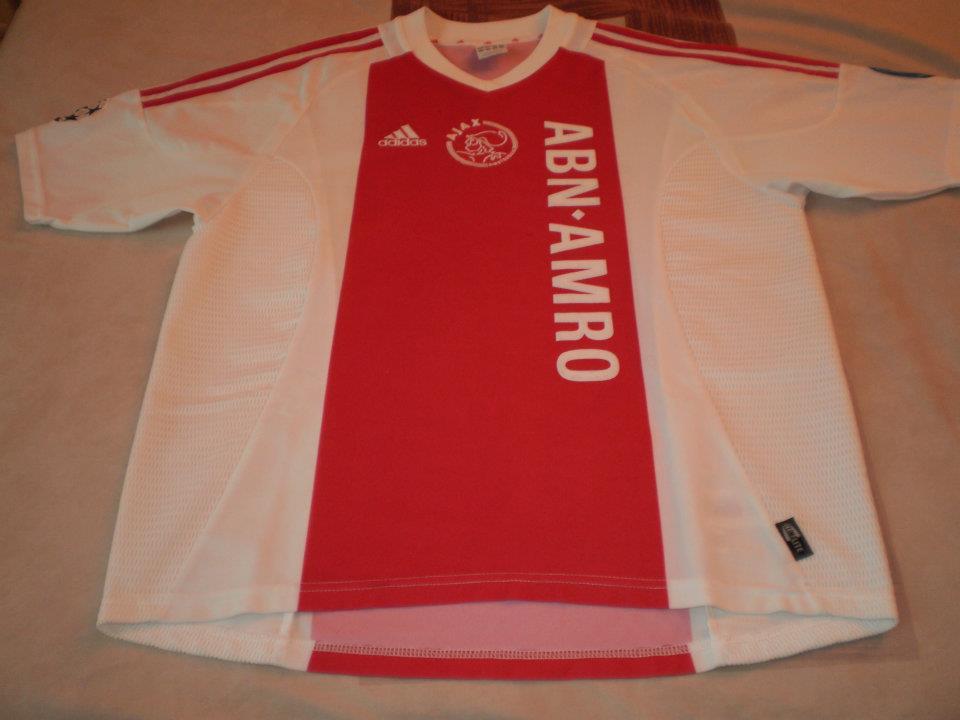 48956d1eae9 Ajax Home Maillot de foot 2002 - 2003.
