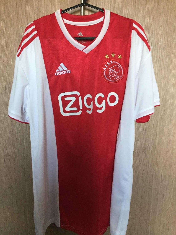af98ee1da86 Campionato Nuovo Ajax Home maglia di calcio 2018 - 2019. Sponsored ...