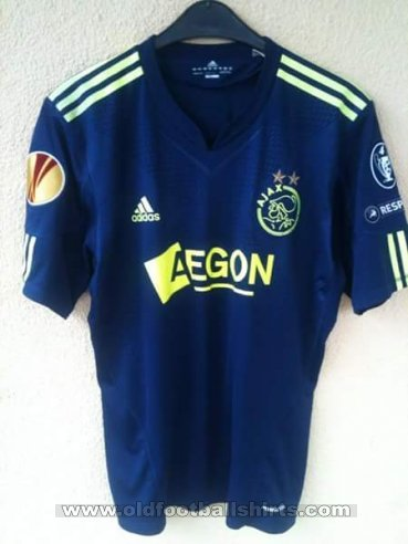 Ajax Away Camiseta de Fútbol 2010 - 2011
