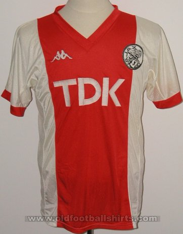Ajax Home football shirt 1985 - 1987