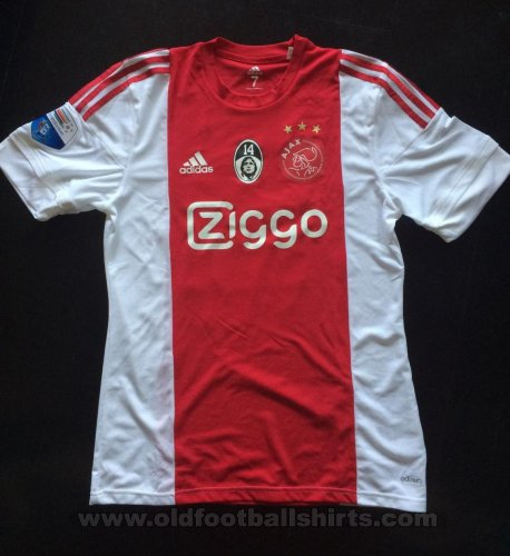Ajax Home Maillot de foot 2015 - 2016
