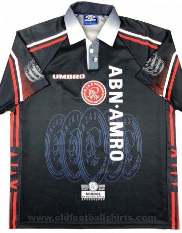 Ajax Away football shirt 1997 - 1998. Sponsored by ABM Amro