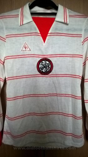 Ajax Away football shirt 1981 - 1982