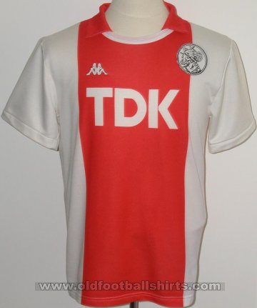 Ajax Home football shirt 1987 - 1989
