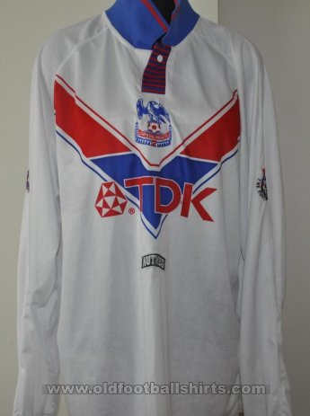 Crystal Palace Away football shirt 1995 - 1996