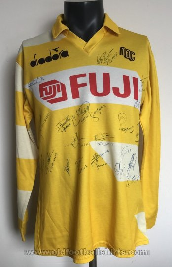 NAC Breda Home football shirt 1990 - 1991