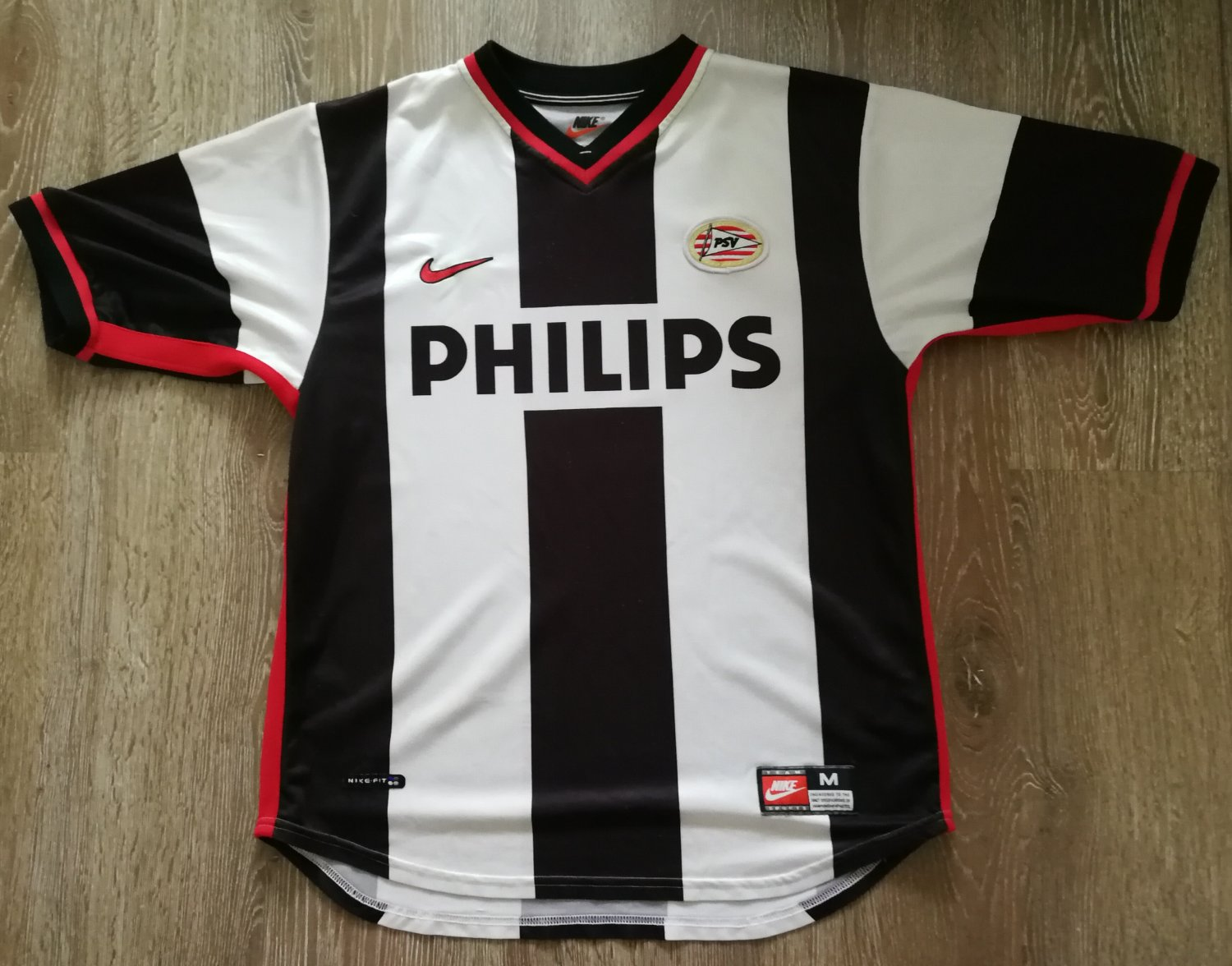 PSV Eindhoven Away football shirt 1998 - 2000. Sponsored by Philips