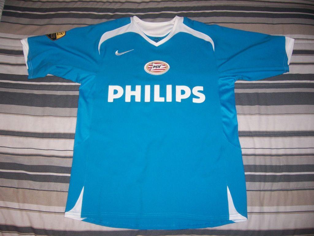 Psv eindhoven ext rieur maillot de foot 2006 2008 for Maillot exterieur