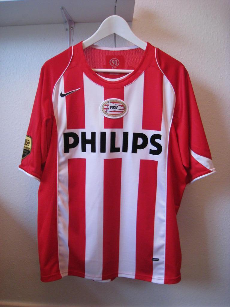 psv eindhoven thuis voetbalshirt 2004 2006 toegevoegd
