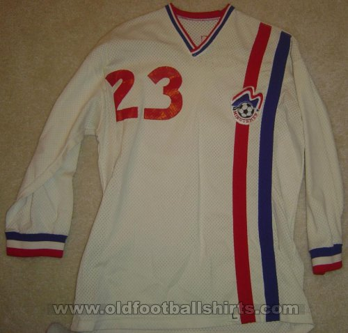 Boston Minutemen Home camisa de futebol 1974 - 1976