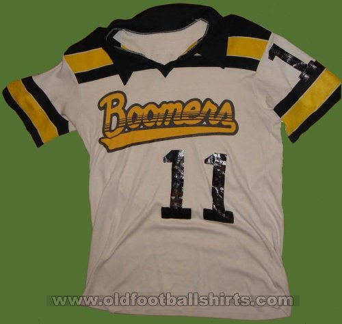 Calgary Boomers Home football shirt 1981