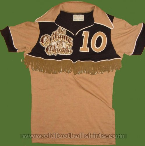 Colorado Caribous Away football shirt 1978