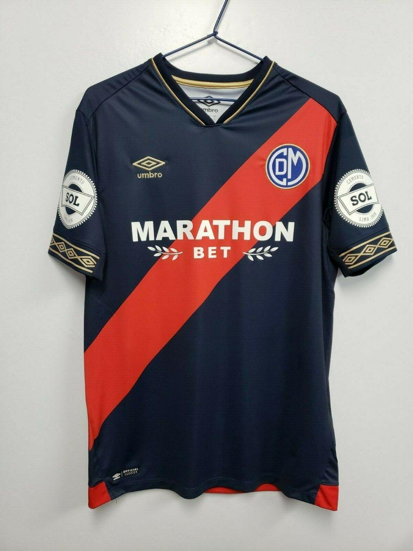 Fútbol 2019 Temporada Away Sponsored Nueva Marathon De Deportivo By Municipal Bet Camiseta
