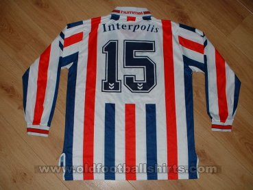 Willem II Home football shirt 1998 - 1999