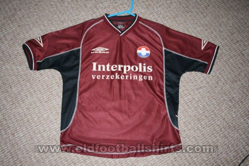 Willem II Away football shirt 2001 - 2002