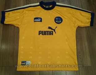 Derby County Away football shirt 1997 - 1998