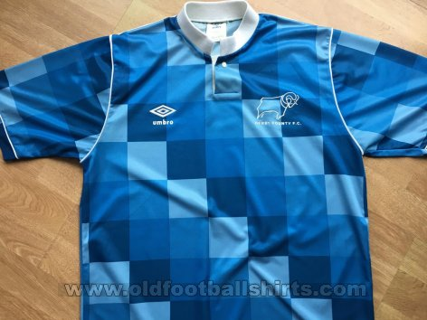Derby County Away football shirt 1987 - 1989
