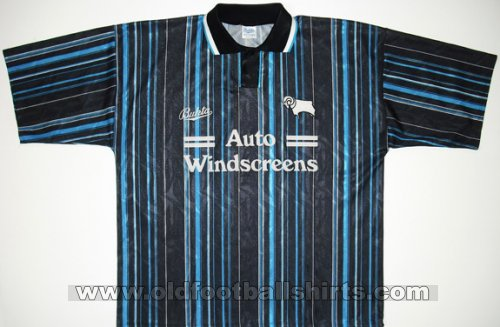 Derby County Away - CLASSIC for sale football shirt 1993 - 1994